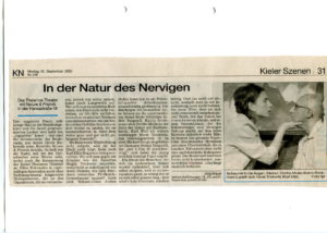 "Premierenkritik ""Nature and friends"""